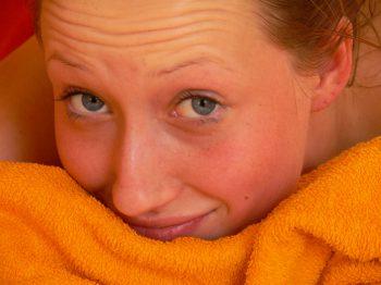 foto nach vitalisierender ayurvedischer Kopf und Gesichtsmassage